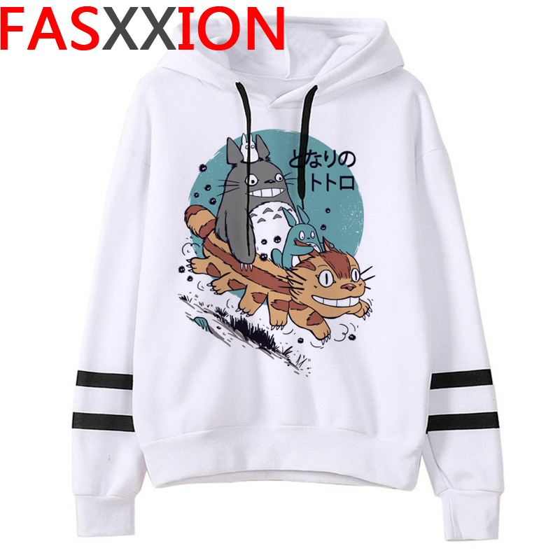 Totoro Studio Ghibli hoodies women streetwear grunge femme hoody sweatshirts hip hop streetwear 12