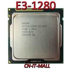 Intel Xeon E3-1280 Cpu 3.5 Ghz 8M 4 Core 8 Threads LGA1155 Processor