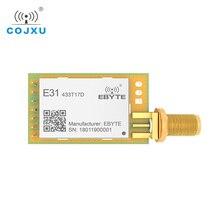E31 433T17D AX5043 433Mhz 50mW RF IoT uhf الارسال اللاسلكي ونقل وحدة الاستقبال لمسافات طويلة شفافة