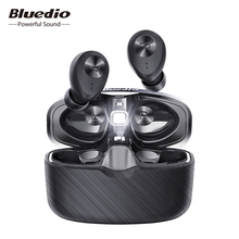Bluedio Fi, Bluetooth Earphone, TWS, Wireless Earbuds, APTX, Waterproof, Sports Headset, Wireless Earphone, In ear, Charging Box