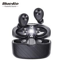 Bluedio Fi, Bluetooth אוזניות, TWS, אלחוטי אוזניות, APTX, עמיד למים, ספורט אוזניות, אלחוטי אוזניות, באוזן, טעינת תיבה