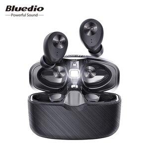 Image 1 - Bluedio Fi, Bluetooth אוזניות, TWS, אלחוטי אוזניות, APTX, עמיד למים, ספורט אוזניות, אלחוטי אוזניות, באוזן, טעינת תיבה