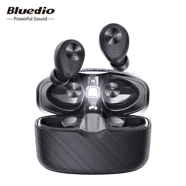 Bluedio Fi,หูฟังบลูทูธTWS,หูฟังไร้สาย,APTX,กันน้ำ,ชุดหูฟังกีฬา,หูฟังไร้สาย,หูฟัง,กล่องชาร์จ