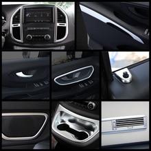 Interior mate reparación Kit para Mercedes Benz Vito W447 2014   2019 tablero/sostenedor de taza/aire/cubierta de la manija de Trim