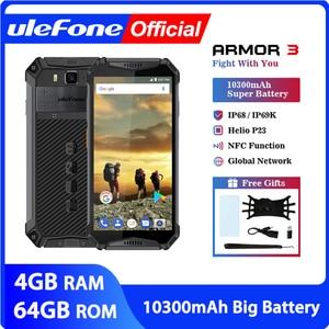 "Image 1 - Téléphone portable étanche Ulefone Armor 3 IP68 Android 8.1 5.7 ""FHD + Octa Core helio P23 4GB 64GB NFC Version mondiale Smartphone"