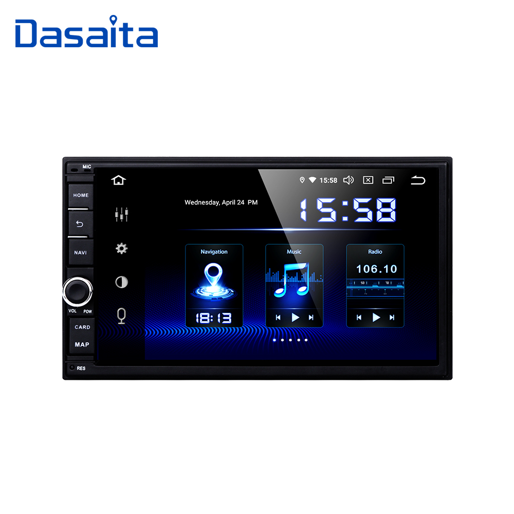 """Dasaita Android Universal Car 2 Din Radio 7"""" IPS Screen Android 9.0 Stereo Multimedia Navigation for Nissan Built in DSP Car Multimedia Player     - title="""