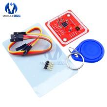 NFC RFID módulo inalámbrico para Arudino V3 NFC Bluetooth lector y escritor de modo IC S50 PCB antena I2C CII SPI UART