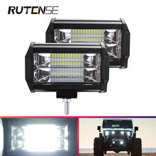 5inch 72W led bar for 4x4 offroad 4WD motorcycle accessories Trucks Tractor Boat Excavator SUV ATV car LED 4X4 spotlight 12V 24V