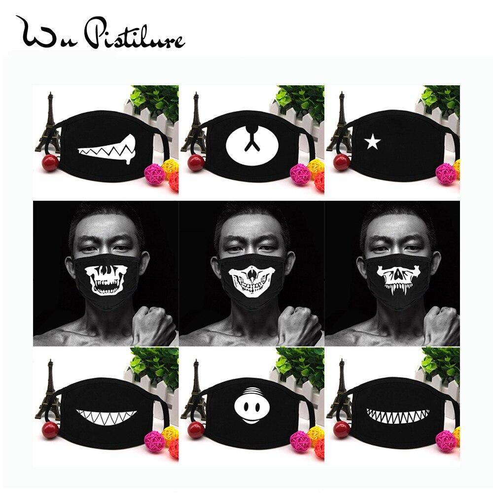 Cotton Cartoon Skull Masks Festive Party Respirator Keep Warm Cotton Cute Bear Mask Camouflage Anti Dust Mouth Muffle Reusable