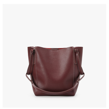 YIFANGZHE Women Leather Shoulder Bags,  Geniune woman leather bags wth large capacity roomy umbrella/book
