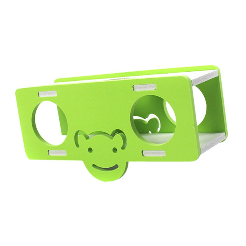 PVC Animal Shaped Small Seesaw Toy Cartoon Tunnel For Animals, Dwarf Hamster, Squirrel, Mouse