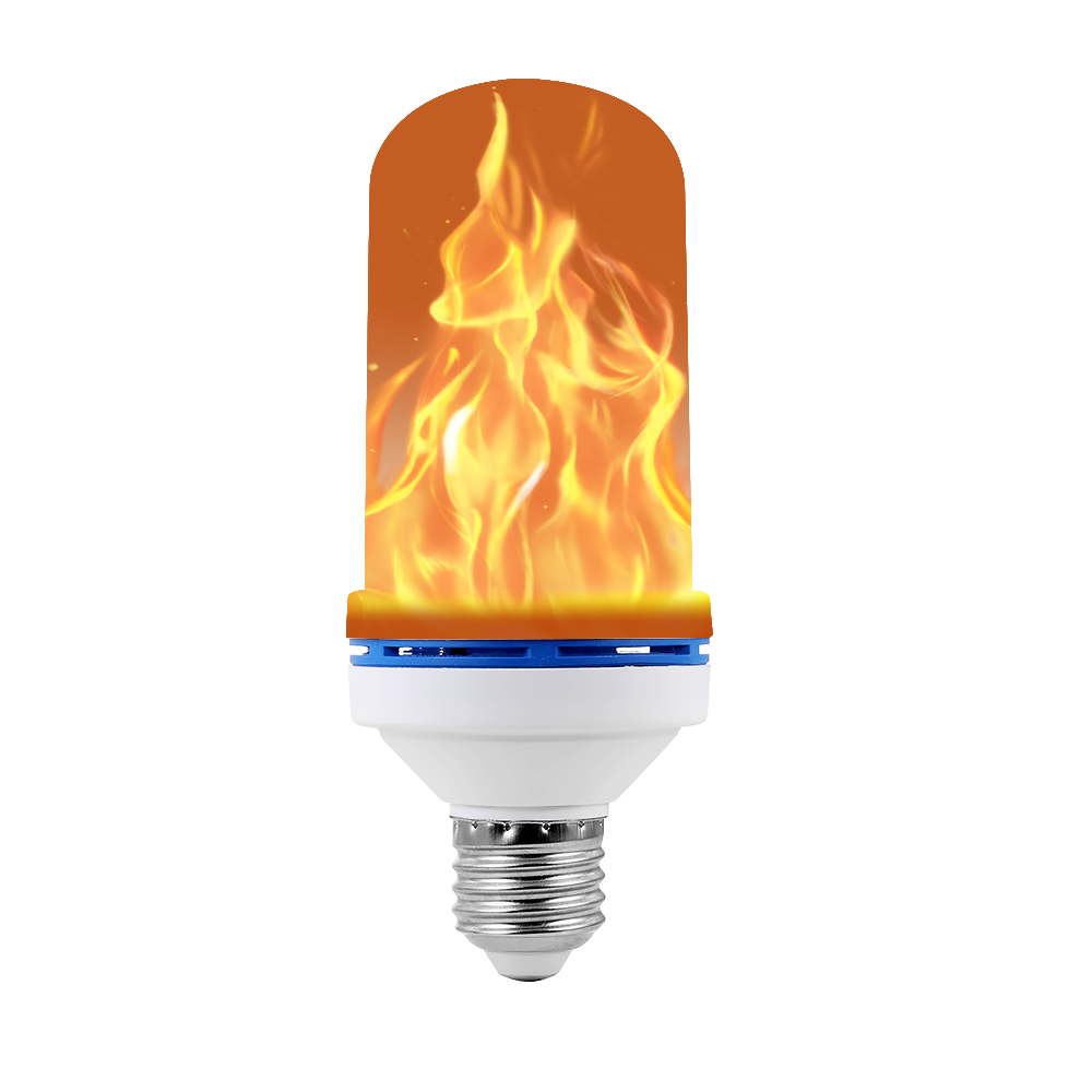 Flame Lamps 6W LED Flame Effect Light Bulb Flickering Emulation Fire Light Dynamic Flame Light Bulbs Simulation Fire Bulb