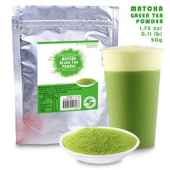 China 100% Pure Organic Natural Matcha Green Tea Powder bag 50g