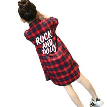 Big Girl Blouse Long Sleeve Shirts Spring Kids Plaid Shirt Teenage Girls Clothing 13 Year Collar Shirt Long Shirt Tops for Girls spring fall teenager long sleeve shirts fashion 2019 kids girls plaid blouses cotton lace tops for baby girl children clothing