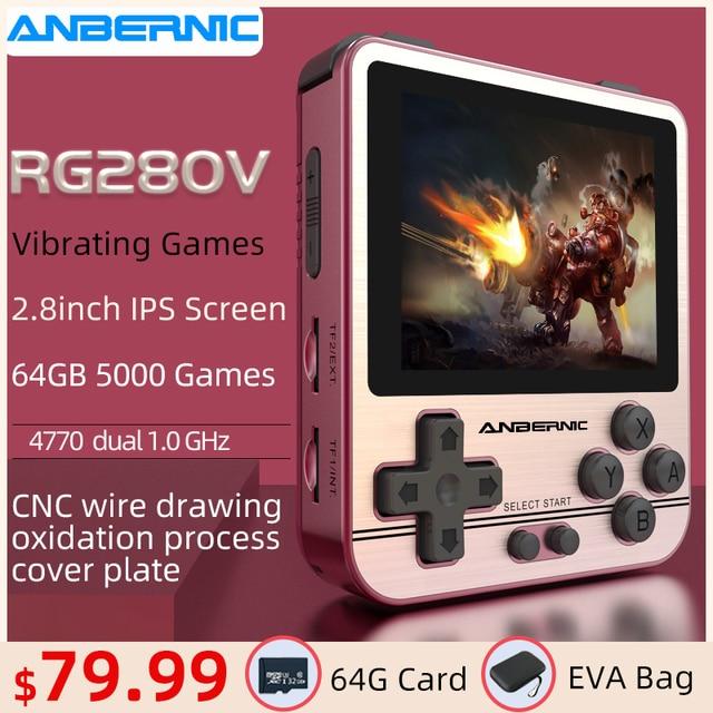 ANBERNIC RG280V PS1 Retro Game Console 2.8