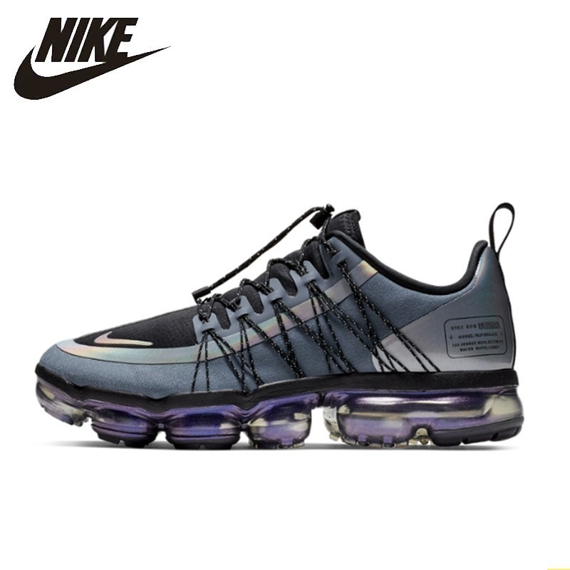 Nike Air Vapormax RUN UTILITY  Official Men Running Shoes Utility Shock Absorption Comfortable Breathable Sneakers #AQ8810