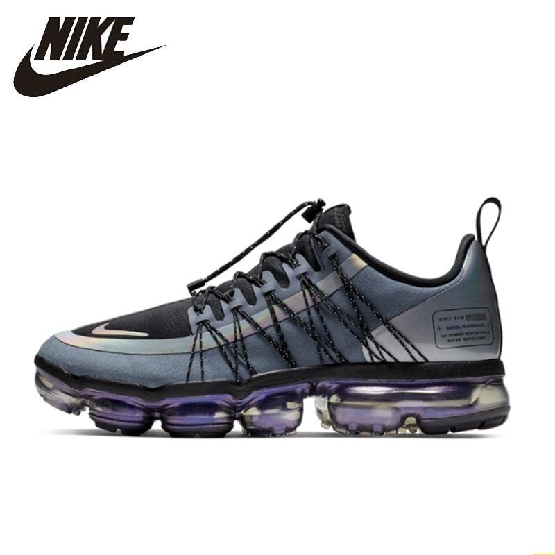 Nike Air Vapormax course utilitaire officiel hommes chaussures de course utilitaire Absorption des chocs confortable respirant baskets # AQ8810