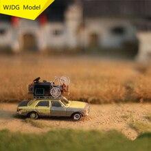 WJDG Model Model making paddy field series scene Model grass suitable for 1:72/1:87HO train sand table DIY miniature landscape