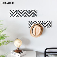 Nordic Individuality Digital Wall Hanger Hook Creative Hanging Decorations Nordic Decoration Home Crafts kids room decoration