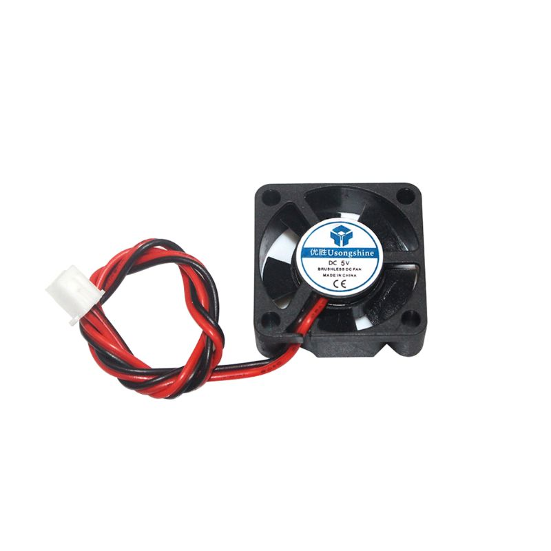 1PC DC 2Pin Mini 3010 Cooling <font><b>Fan</b></font> <font><b>5V</b></font>/12V/24V <font><b>30MM</b></font> 30x30x10mm Small Exhaust <font><b>Fan</b></font> for 3D Printer 3010 2 pin for 3d printer image