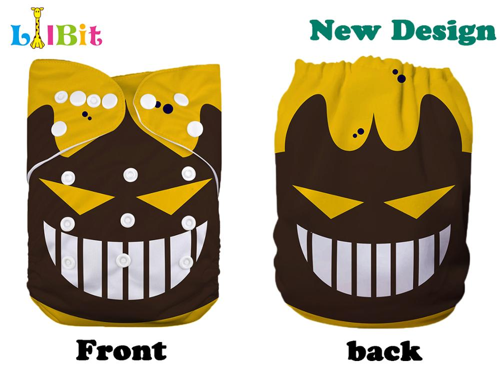 1 PC Reusable Washable Holiday Halloween Print Baby Cloth Diaper