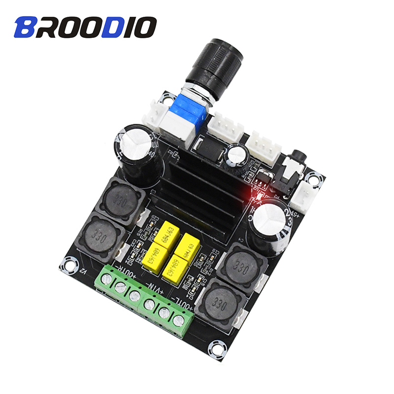 TPA3116D2 High Power Digital Audio Amplifier Board Dual Channel 100W 2 Class D Amplifiers Sound amplificador DIY DC12 24V in Amplifier from Consumer Electronics