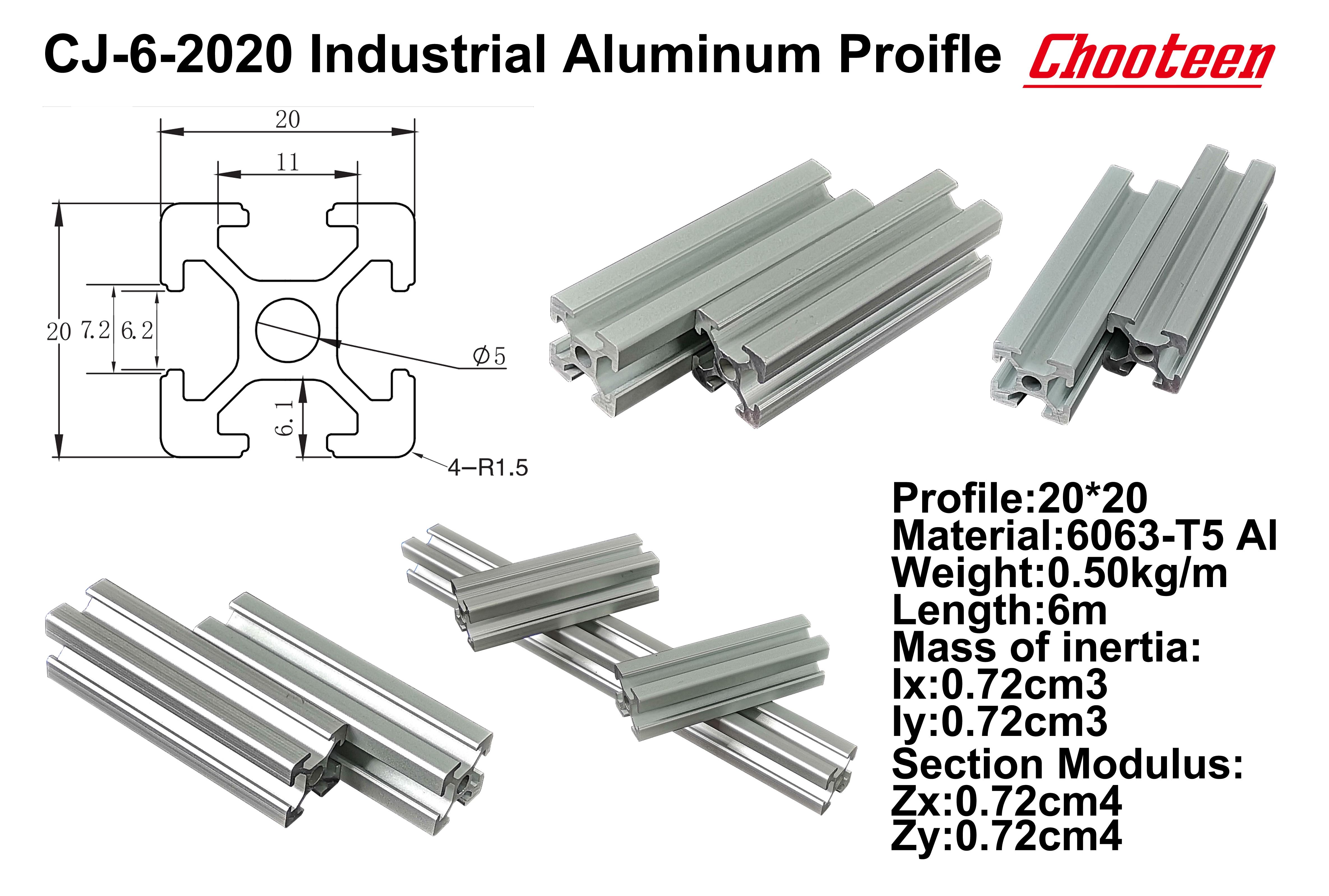 Купить с кэшбэком 1 pcs 1000mm Length 2020 T-Slot Aluminum Profile Extrusion Frame for CNC Parts