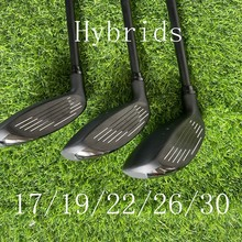 Golf Hybrid 425 Golf Clubs Rescue 17/19/22/26/30 Loft With ALTA JCB Graphite Shaft Head Cover