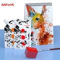 MIYA Gouache Farben Tasche 100ml 44 farben Professionelle Ungiftig Haut Farbe Gouache Refill Farbe Für Malerei Kunst liefert