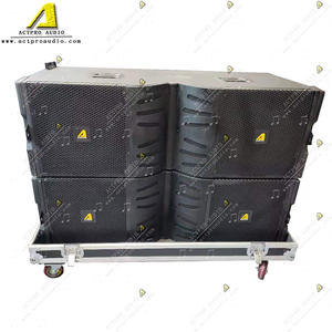 V25 3 Way Dual 15′′ Powerful Active Line Array Loudspeaker
