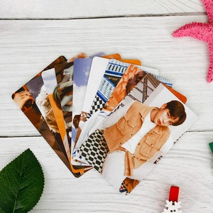 9pcs/set Kpop ATEEZ Photocard Postcard TREASURE EP.FIN ALL TO ACTION Album Photo Card ATEEZ KPOP Lomo Cards New Arrivals(China)