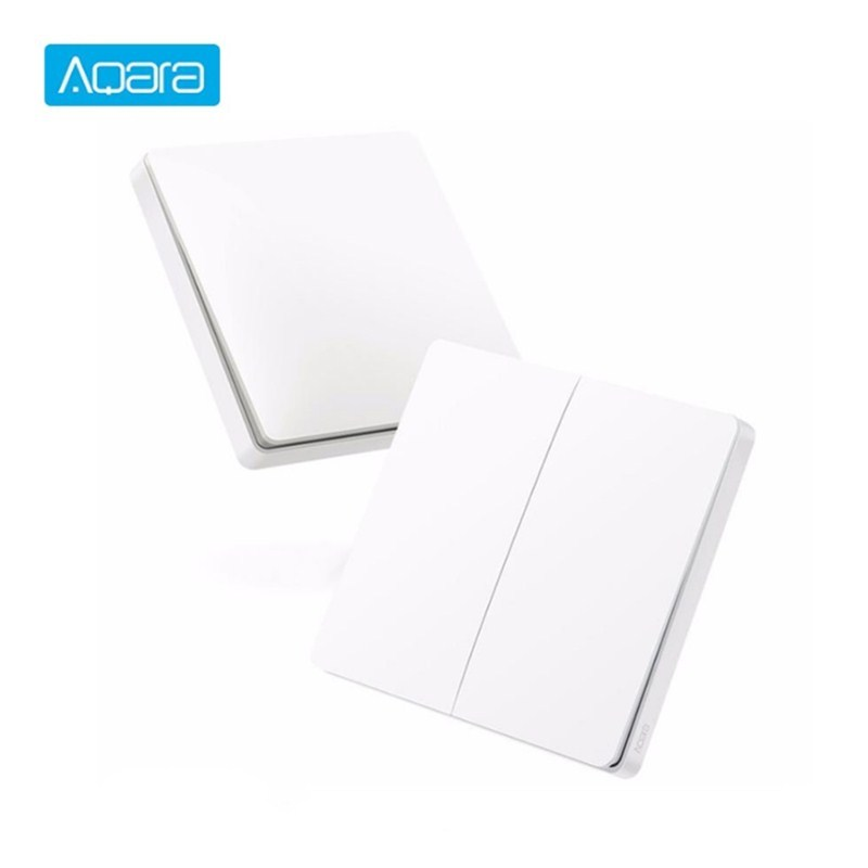 Aqara Wireless Light Switch ZiGBee Wifi Wireless Control APP Remote Control Wall Switch For Home Device