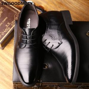 Image 2 - Elevator Shoes For Men Wedding Shoes Men Italian Shoes Men Fashion Zapato Formal Hombre Sapato Social Masculino Scarpe Uomo