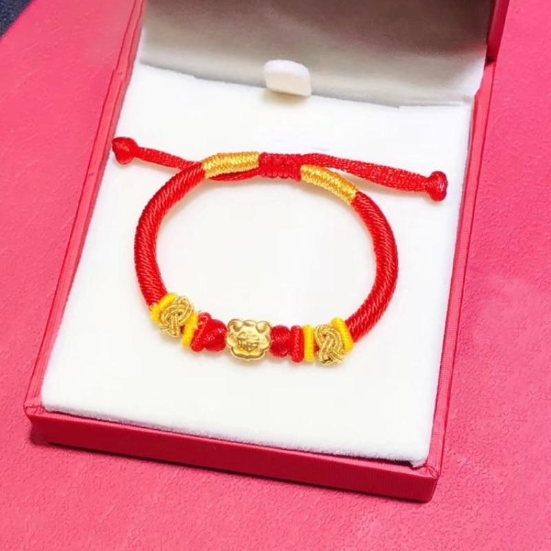 New Fine Pure 999 24K yellow Gold Women Men Bless 3D Pixiu Bead Pendant