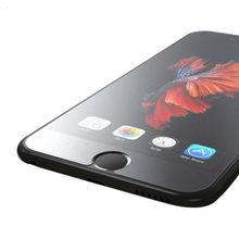 Vidrio Templado amigo sin huellas dactilares para iphone11 Pro Max XS MAX XR 7 8Plus 6SPlus SE2020 pelicula protectora esmerilada
