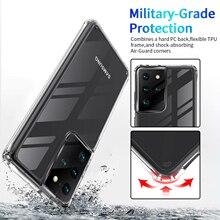 Прозрачный Акриловый чехол для Samsung Galaxy Note 20 S20 S21 Ultra S10 Note 10 S20 Plus FE