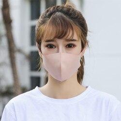 Czarna Maska niebieska różowa Maska przeciwpyłowa na ustach maski na twarz Anime Mascaras Pm2.5 Anti-fog usta Maska Unisex ochrona podróży 6