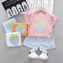 For One year birthday baby girls summer clothes outfits sets fashion T-shirt top +Culottes suit newborn babies clothing sets cheap BarbieRabbit Polyester COTTON O-Neck Pullover Short REGULAR Fits true to size take your normal size Herringbone Coat cotton polyester