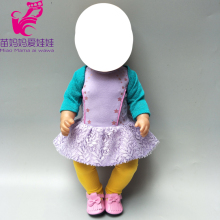 baby doll clothes dress for 43cm  suit s 18 girl children gifts