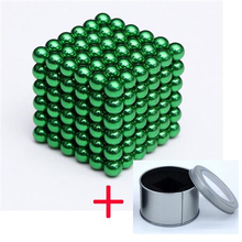 Magnet 3mm 216pcs/set with Metal Box New Magic Metal Balls Neodymium Cube Magnetic Balls Neo Puzzle Gift Toy magnetic toy set ndfeb magnet rods iron balls multiple color cylinder spheres construction stress release kit drop shipping