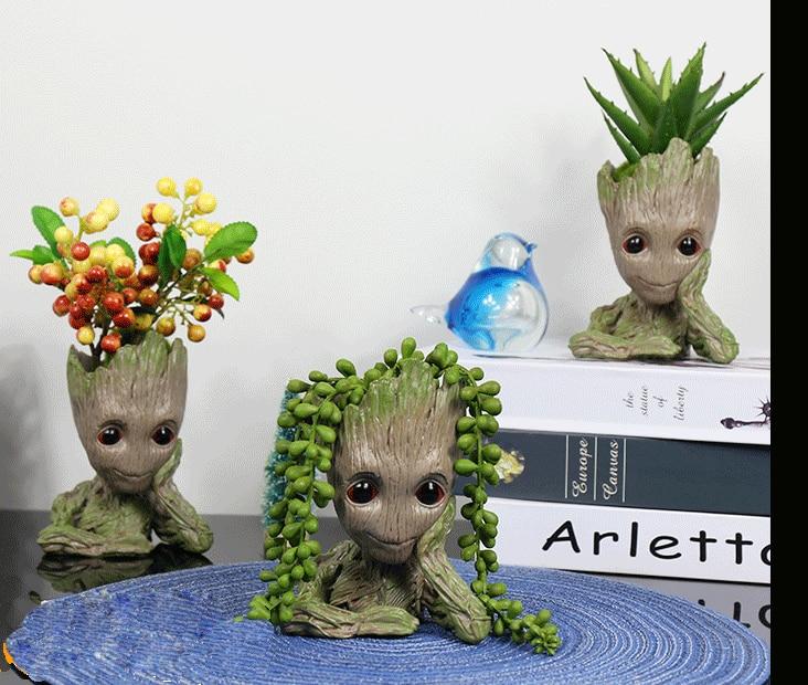 Милый подарок для дерева мужской Настольный Топ мультяшное украшение
