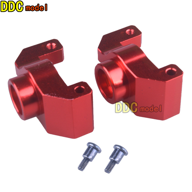 2PCS Mental Remo A2513 Alloy Rear Wheel Seat For 1/16 1621 1625 1631 1635 1651 1655 Vehicle Models RC Car Parts