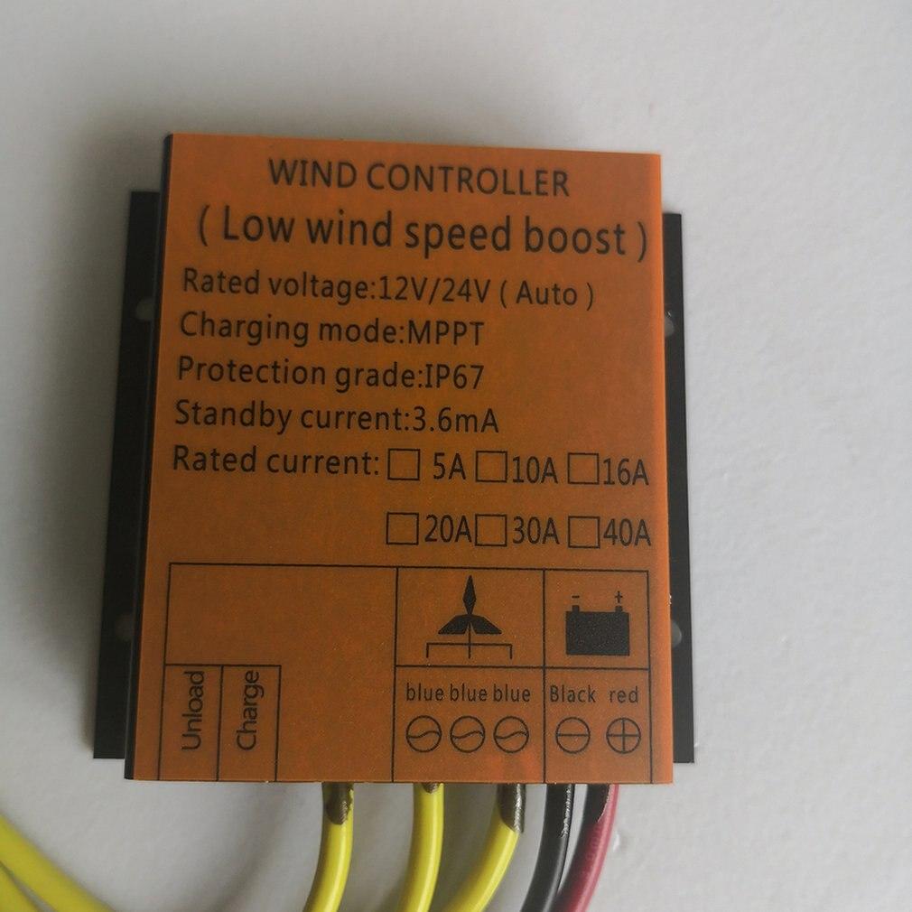 400 w controlador de turbina eólica 12v24v