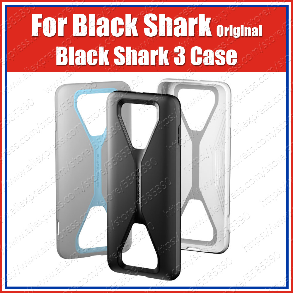 BC38 Xiaomi Black Shark 3 Pro Case Original Black Shark 3 Cushion Aero Armor PC TPU Back Cover