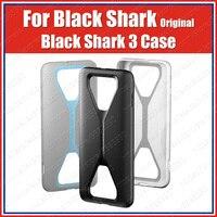 Bc38 xiaomi tubarão preto 3 pro caso original tubarão preto 3 almofada aero armadura pc tpu capa traseira Estojos encaixados     -