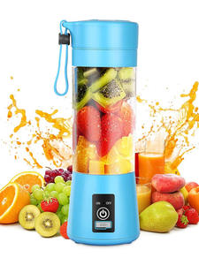 MINI Juicer Blender-Bottle-Mixer Food-Smoothie-Maker Kitchen 6-Blade 380ML Usb-Charging