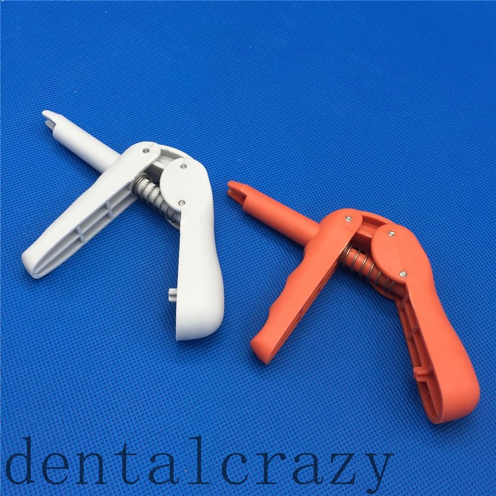 New Dental Equipments Composite Gun For Compules Uni Applicator Dispenser Gray/Orange Dentist Lab Instruments