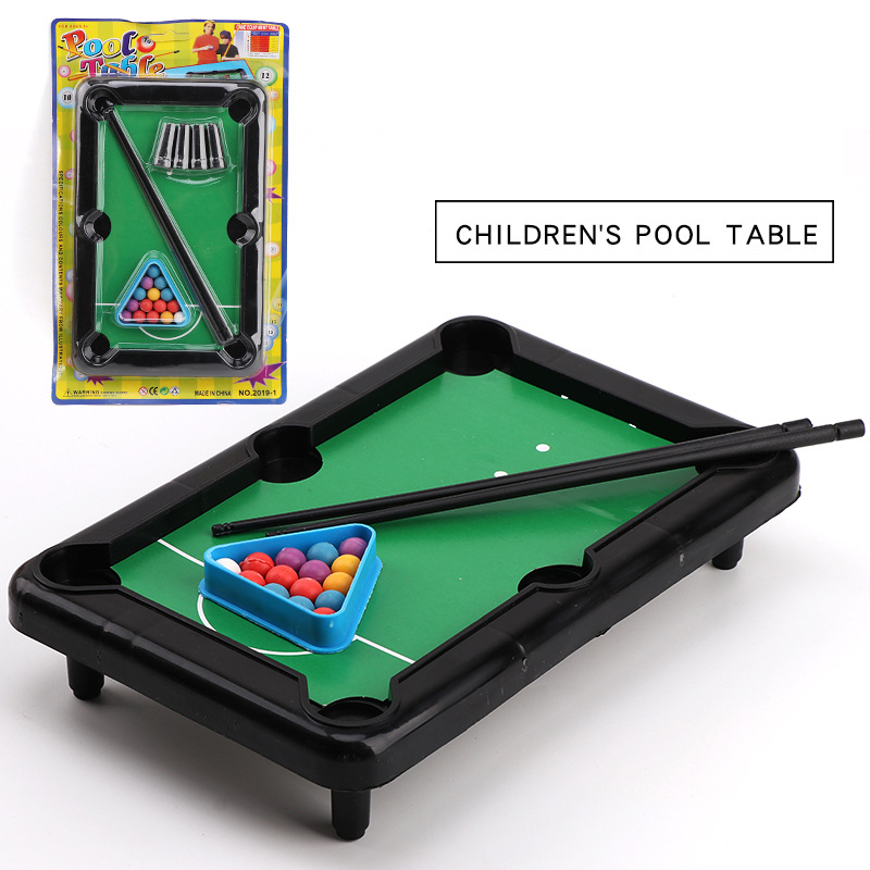 Warmom Kids Toy Mini Billiards Baby Educational Learning Toys Table Party Game For Child Family Fun Game Toy Gifts