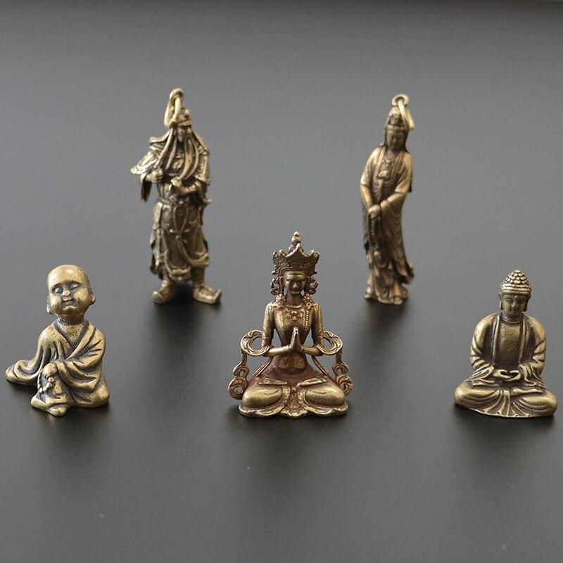Cuivre faire l'amour Postures Miniatures Figurines Vintage Sexy vivant maison décoration accessoires décor de bureau ornement drôle cadeau 5