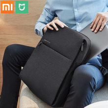 100% Original Xiaomi mijia Fashion backpack brief school bag Waterproof Outdoor Suit For 15.6 Inch of computer/xiaomi plate